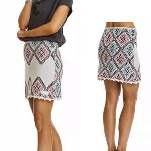 Odd Molly After Light Knit Skirt in Chalk